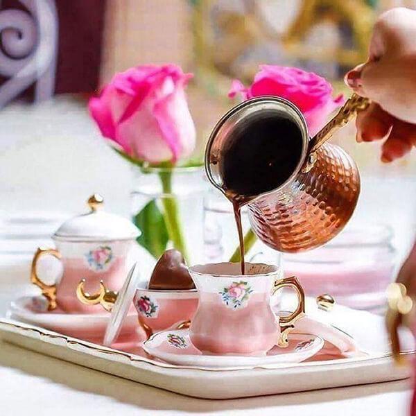 доброе утро цветы и кофе картинки