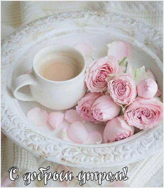С добрым утром картинки красивые. Кофе утром
