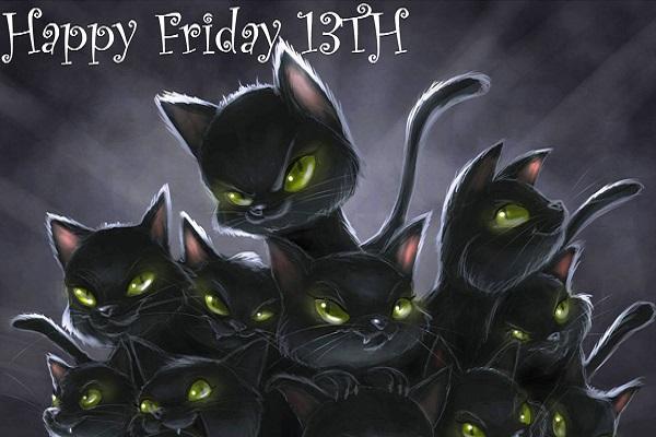 Пятница 13-е картинки с кошками