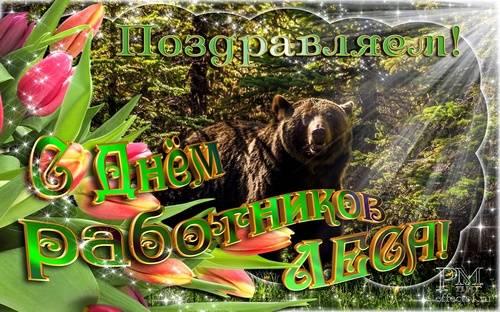 День работника леса - открытки красивые