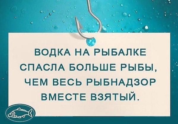 Анекдоты про рыбалку и водку