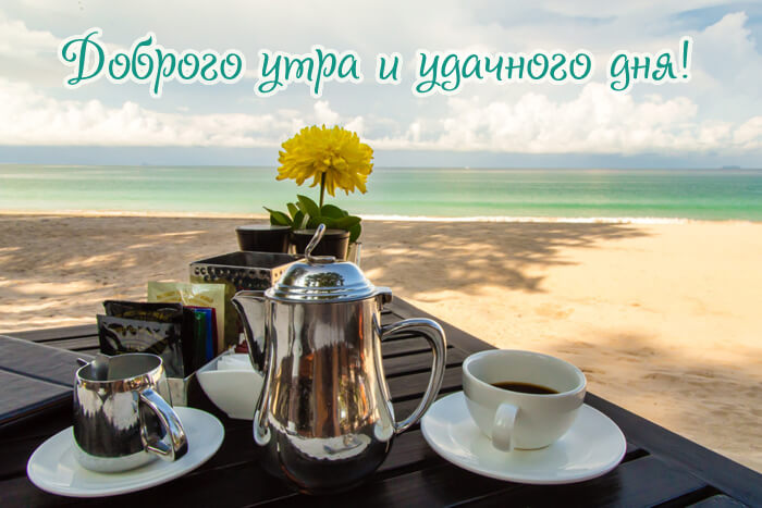 Красивые картинки Доброе утро и дня