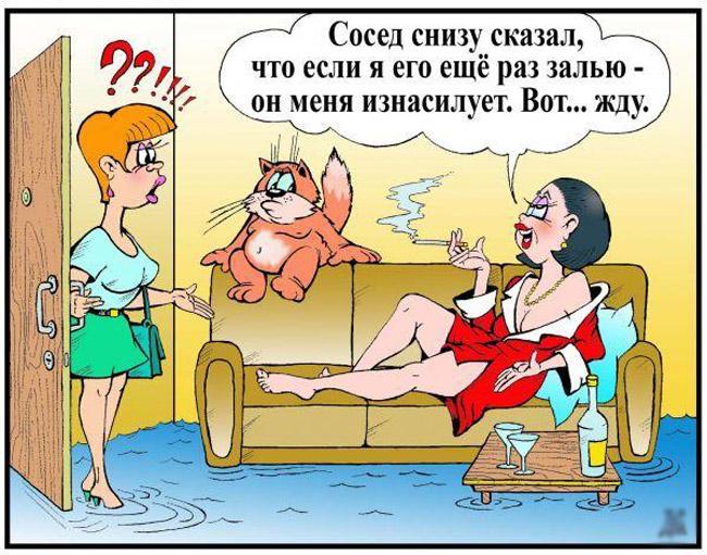 Смешные анекдоты с картинками для взрослых