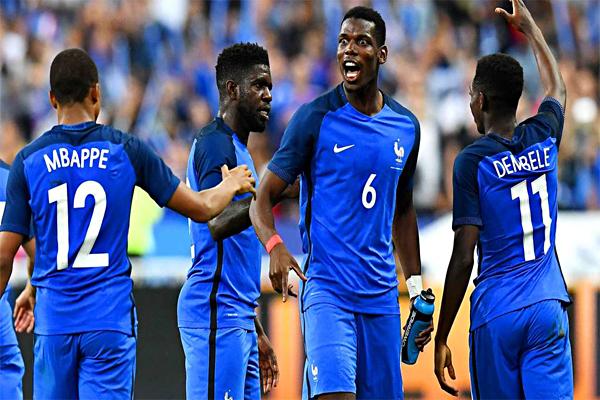 Свежие анекдоты и шутки про чемпионат мира по футболу 2018 - команда Франции