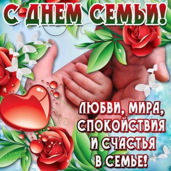 День семьи любви и верности картинки красивая