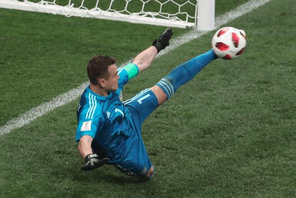 Лучшие моменты матча Россия-Испания Акинфеев