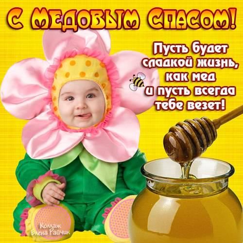 Медовый Спас - открытки прикольные бесплатно скачать