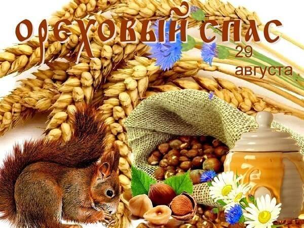 Ореховый Спас - красивые картинки скачать бесплатно с белочкой