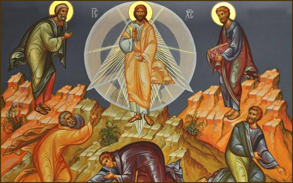 Церковная открытка Преображение Господня