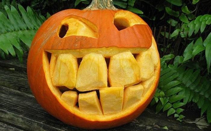 Красивые и прикольные картинки на Хэллоуин - смешная тыква