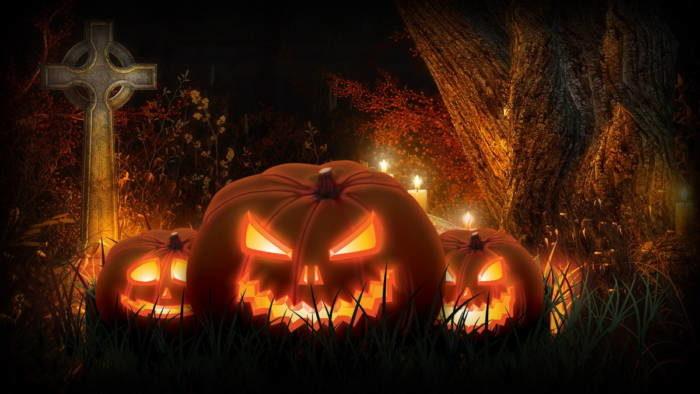 Очень страшные картинки на Хэллоуин