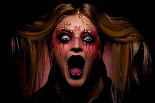 Страшные лица - Хэллоуин фото