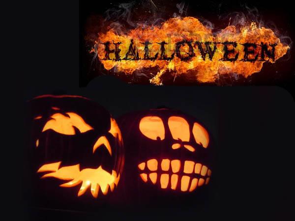 Картинки на Хэллоуин прикольные и страшные