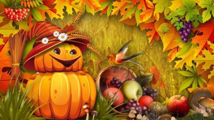 Красивые картинки на Хэллоуин - тыквы