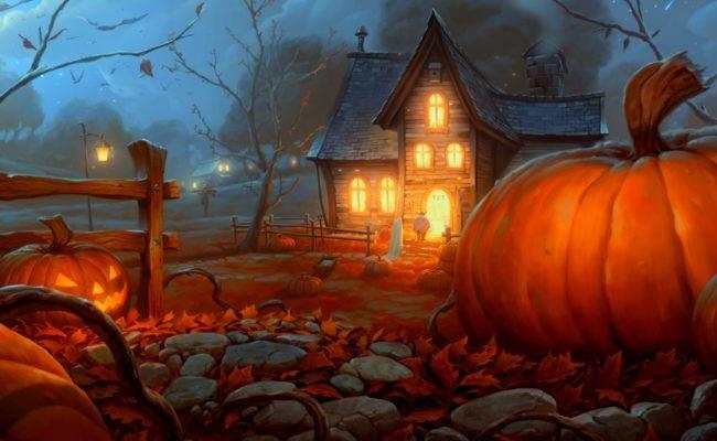 Картинки на Хэллоуин красивые скачать