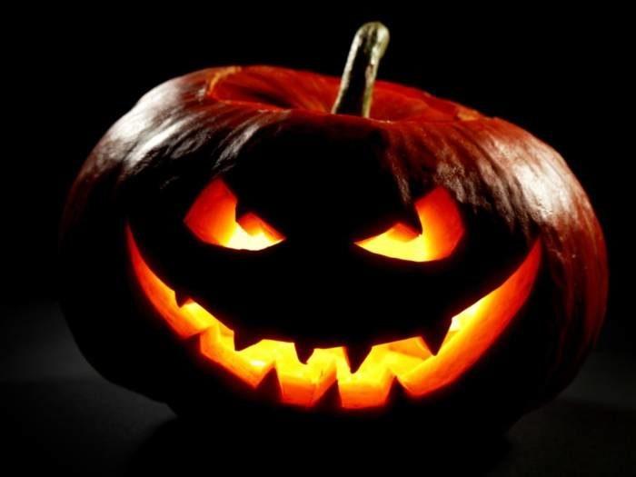 Страшная тыква - страшные картинки на Хэллоуин
