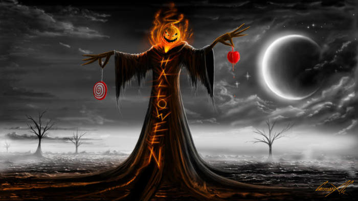 Страшные картинки на Хэллоуин скачать
