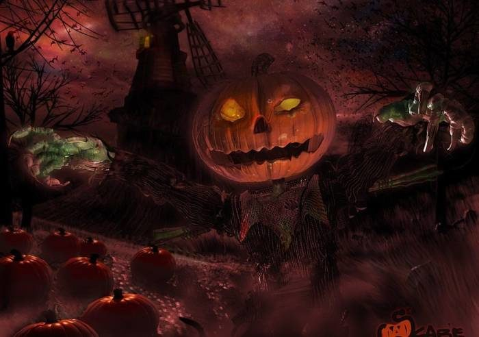 Страшные картинки на Хэллоуин скачать бесплатно
