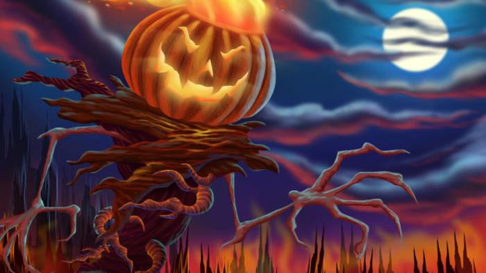 Картинки страшные на Хэллоуин скачать