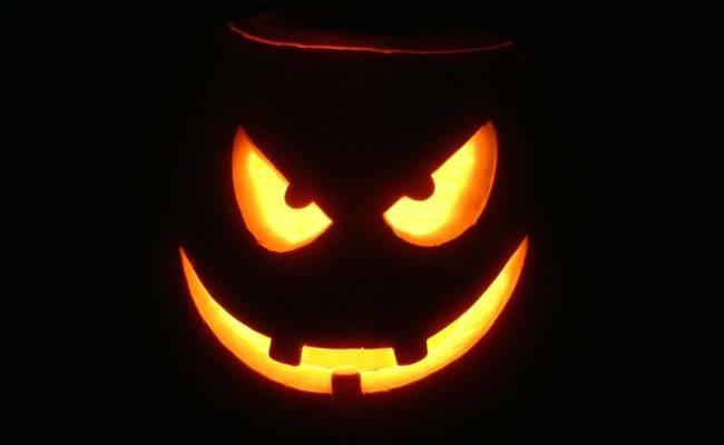 Картинки на Хэллоуин - страшные тыквы скачать