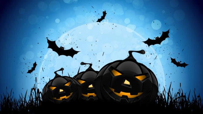Страшные картинки на Хэллоуин