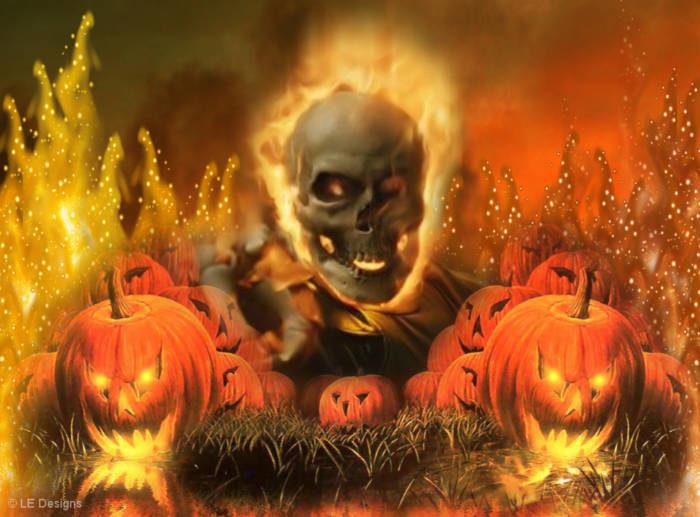 Хэллоуин - страшные картинки скачать бесплатно