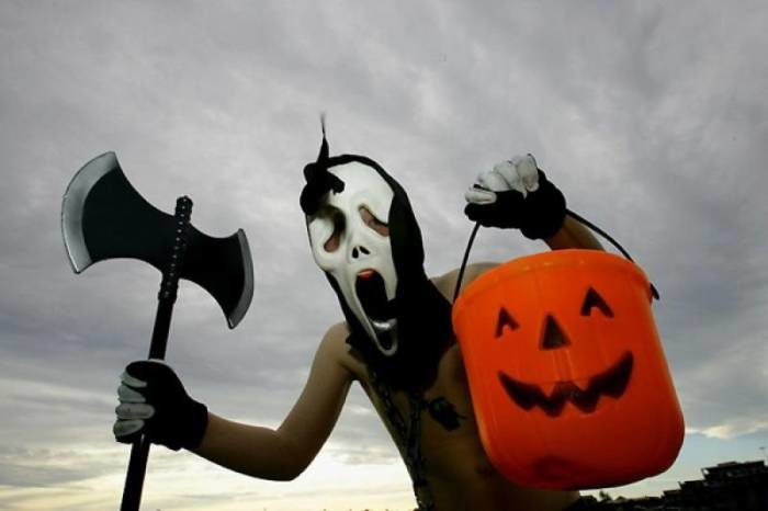 Прикольные и страшные картинки на Хэллоуин (55 штук)
