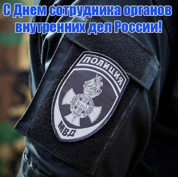 Поздравления с Днем полиции в картинках